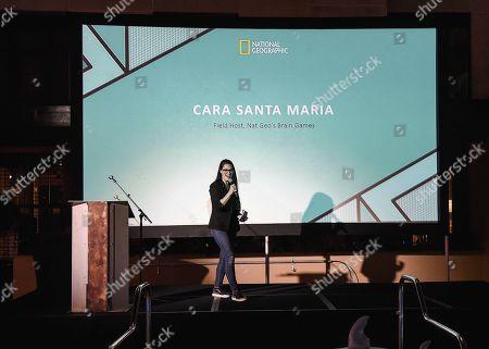 Stock Photo of Cara Santa Maria