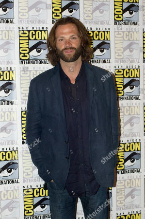 US actor Jared Padalecki of Supernatural television series, poses for a photograph during a press conference at Comic Con International 2019 in San Diego, California, USA, 21 July 2019.