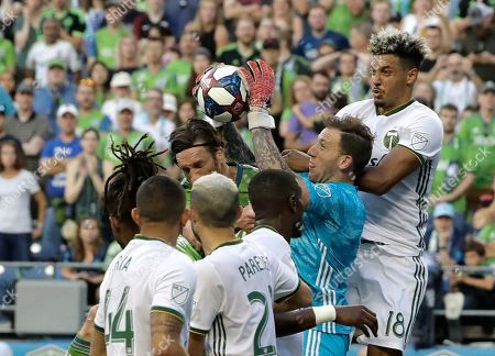 Editorial photo of MLS Timbers Sounders Soccer, Seattle, USA - 21 Jul 2019