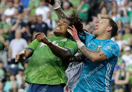 Editorial image of MLS Timbers Sounders Soccer, Seattle, USA - 21 Jul 2019