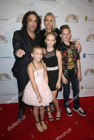 Stock Photo of Paul Stanley, Erin Sutton, Sarah Brianna Stanley, Emily Grace Stanley, Colin Michael Stanley