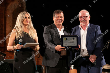 Editorial picture of Italian National Cinema Awards, Show, Siracusa - 21 Jul 2019
