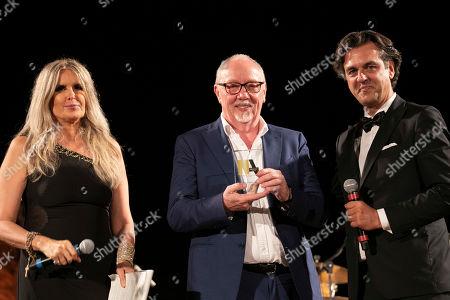 Tiziana Rocca, Terry George and Michel Curatolo
