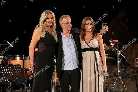 Tiziana Rocca, Christopher Lambert and Lucia Borgonzoni