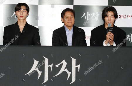 Editorial picture of New movie 'The Divine Fury', Seoul, Korea - 22 Jul 2019