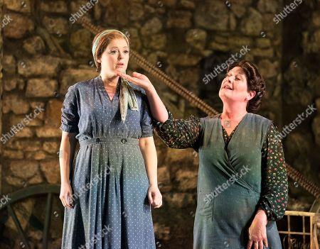 Fflur Wyn as Vivetta, Yvonne Howard as Rosa,