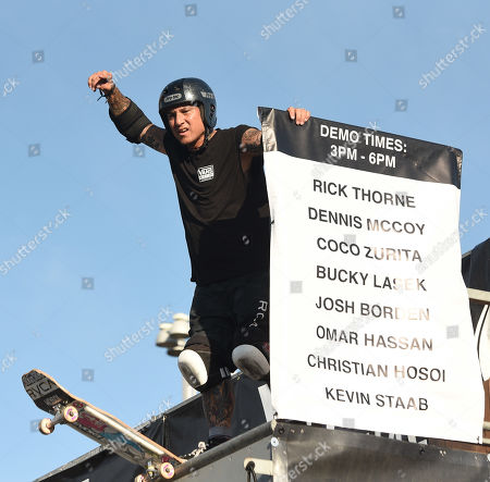 Stock Picture of Christian Hosoi