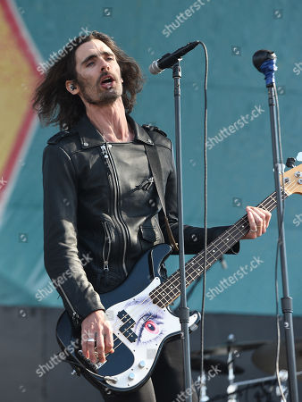 Stock Photo of The All-American Rejects - Tyson Ritter