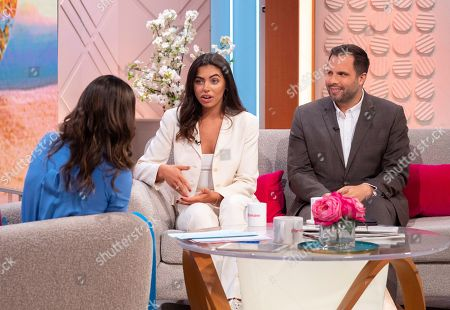 Christine Lampard, Francesca Allen and Dan Wooton