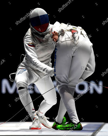 Editorial photo of FIE World Fencing Championships in Budapest, Hungary - 22 Jul 2019