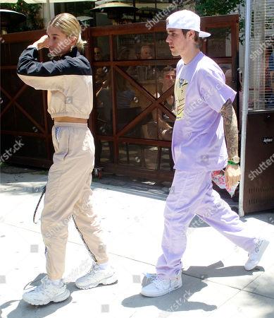 Hailey Bieber, Justin Bieber