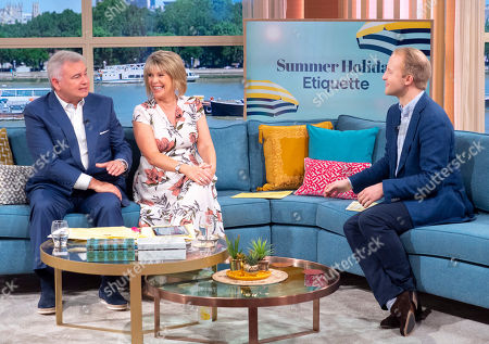 Eamonn Holmes and Ruth Langsford with William Hanson