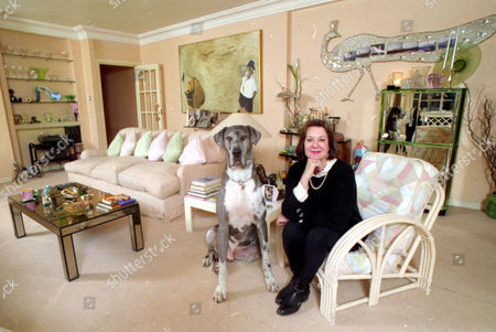 Television Producer Verity Lambert Pictured At Home.