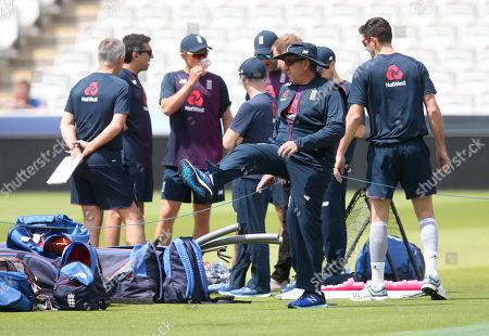 England Coach Trevor Baylis