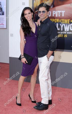 John Stamos and wife