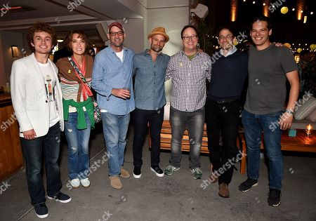 Sean Giambrone, Mary Mack, Mike Mendel, Josh Bycel, Mike McMahan, Craig Hunegs and Billy Rosenberg