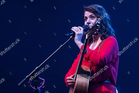 Stock Image of Katie Melua performs on stage during a concert at the Blue Balls Festival in Lucerne, Switzerland, 22 July 2019. The music event runs from 19 to 27 July.
