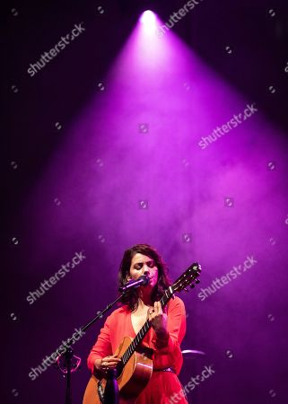 Katie Melua performs on stage during a concert at the Blue Balls Festival in Lucerne, Switzerland, 22 July 2019. The music event runs from 19 to 27 July.