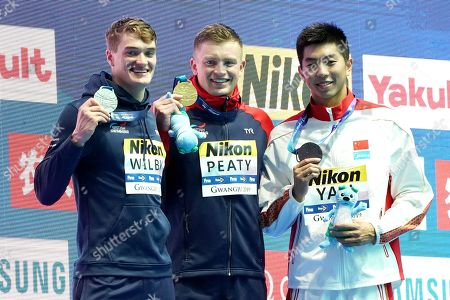 Editorial image of 18th Fina World Championships Men's 100m Breaststroke, Gwangju, South Korea - 22 Jul 2019