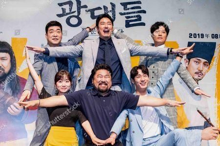 South Korean actors Son Hyun-ju, Cho Jin-woong, Park Hee-soon, Kim Seul-ki, Go Chang-seok, Yoon Bak