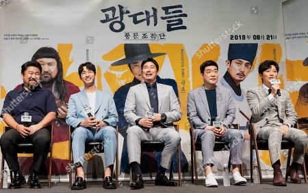 Editorial picture of 'Jesters: The Game Changers' film press conference, Seoul, South Korea - 22 Jul 2019