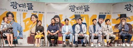 Editorial image of 'Jesters: The Game Changers' film press conference, Seoul, South Korea - 22 Jul 2019