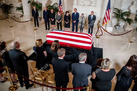 Editorial picture of US Supreme Court Associate Justice John Paul Stevens lies in repose, Washington, USA - 22 Jul 2019