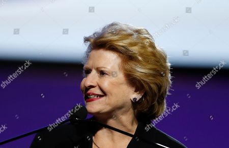 Sen. Debbie Stabenow, D-Mich., addresses the 110th NAACP National Convention, in Detroit