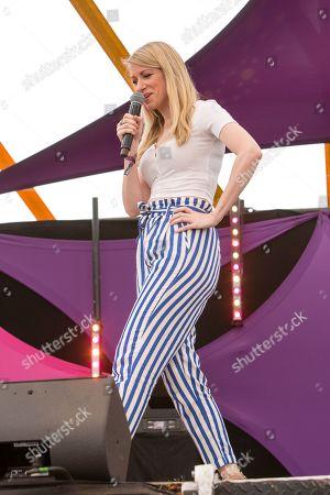 Comedian Rachel Parris