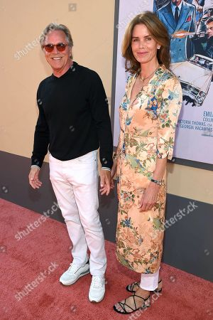 """Don Johnson and Kelley Phleger at the Premiere of Sony Pictures' """"Once Upon A Time In Hollywood"""" at the TCL Chinese Theatre."""
