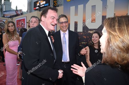 Quentin Tarantino, Director/Writer/Producer, and Tom Rothman, Chairman of Sony Pictures Entertainments Motion Picture Group,