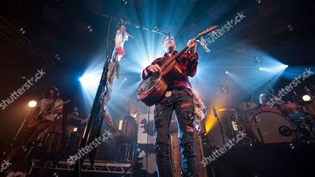 Editorial photo of Kaleo in concert at The Barrowland Ballroom, Glasgow, Scotland, UK - 03 Nov 2017