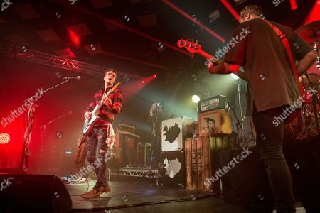 Editorial picture of Kaleo in concert at The Barrowland Ballroom, Glasgow, Scotland, UK - 03 Nov 2017