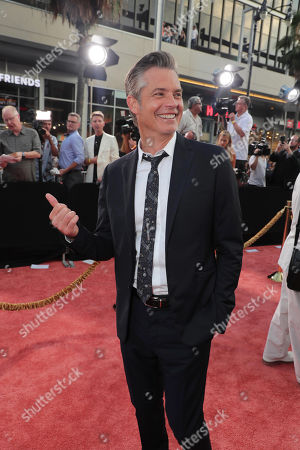 """Hollywood, CA - July 22, 2019: Timothy Olyphant at the Premiere of Sony Pictures' """"Once Upon A Time In Hollywood"""" at the TCL Chinese Theatre."""