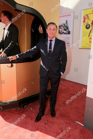 """Hollywood, CA - July 22, 2019: Spencer Garrett at the Premiere of Sony Pictures' """"Once Upon A Time In Hollywood"""" at the TCL Chinese Theatre."""