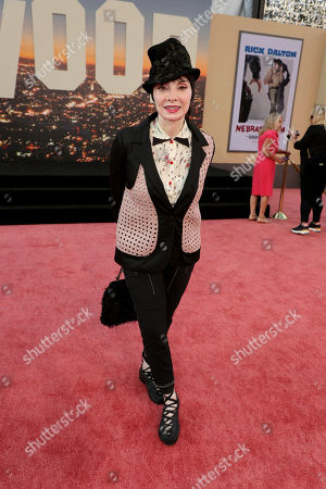 """Toni Basil at the Premiere of Sony Pictures """"Once Upon A Time In Hollywood"""" at the TCL Chinese Theatre."""