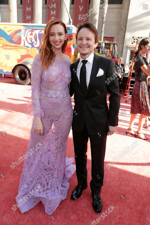 "Stock Picture of Guest and Damon Herriman at the Premiere of Sony Pictures ""Once Upon A Time In Hollywood"" at the TCL Chinese Theatre."