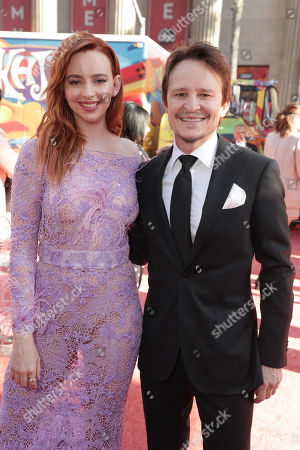 "Guest and Damon Herriman at the Premiere of Sony Pictures ""Once Upon A Time In Hollywood"" at the TCL Chinese Theatre."