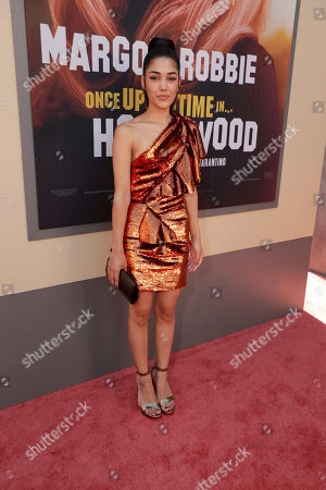 Editorial image of Sony Pictures 'Once Upon A Time In Hollywood' film premiere, Arrivals, TCL Chinese Theatre, Los Angeles, USA - 22 Jul 2019