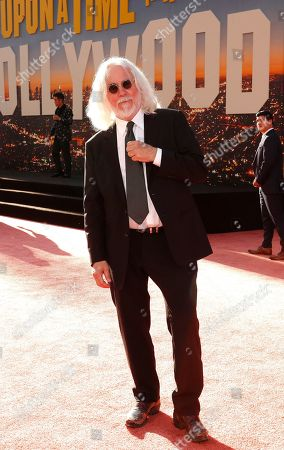 US cinematographer Robert Richardson arrives for the premiere of 'Once Upon a Time in Hollywood' at the TCL Chinese Theatre IMAX in Hollywood, Los Angeles, California, USA, 22 July 2019. The movie opens in the US on 26 July 2019.