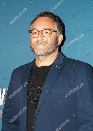Colin Trevorrow arrives for the grand opening celebration of Universal Studios Hollywood's 'Jurassic World: The Ride' in Universal City, California, USA, 22 July 2019.