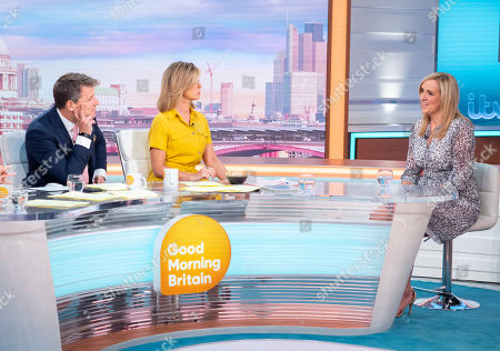 Stock Image of Ben Shephard and Kate Garraway with Tracey Neville