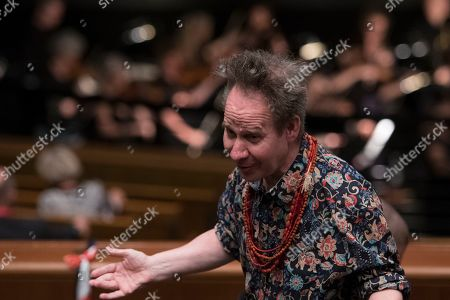 US theater director Peter Sellars during a rehearsal of the opera 'Idomeneo' in Salzburg, Austria, 22 July 2019 (issued 23 July 2019). The production of Wolfgang Amadeus Mozart's opera will be staged at the Salzburg Festival, which runs from 20 July to 31 August 2019.