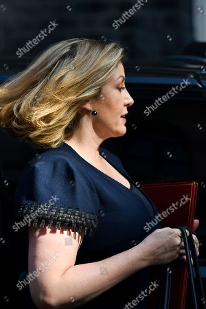 Stock Photo of Penny Mordaunt. Ministers arrive for the Cabinet meeting.