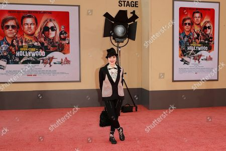 Toni Basil arrives for the premiere of 'Once Upon a Time in Hollywood' at the TCL Chinese Theatre IMAX in Hollywood, Los Angeles, California, USA, 22 July 2019. The movie opens in the US on 26 July.