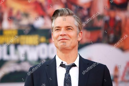 Timothy Olyphant arrives for the premiere of 'Once Upon a Time in Hollywood' at the TCL Chinese Theatre IMAX in Hollywood, Los Angeles, California, USA, 22 July 2019. The movie opens in the US on 26 July.