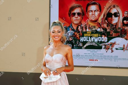 Rebecca Gayheart arrives for the premiere of 'Once Upon a Time in Hollywood' at the TCL Chinese Theatre IMAX in Hollywood, Los Angeles, California, USA, 22 July 2019. The movie opens in the US on 26 July.