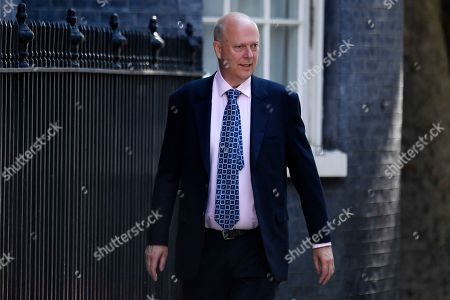 Britain's Secretary of State for Transport Chris Grayling arrives for a cabinet meeting in 10 Downing Street, Central London, Britain, 23 July 2019. The conclusion of the Conservative party leadership contest between Boris Johnson and Jeremy Hunt will be announced later in the day with the winner replacing Theresa May as British Prime Minister.