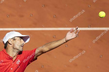 Editorial image of Swiss Open tennis tournament in Gstaad, Switzerland - 23 Jul 2019