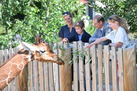 Prince Edward and Sophie Countess of Wessex visit to Bristol
